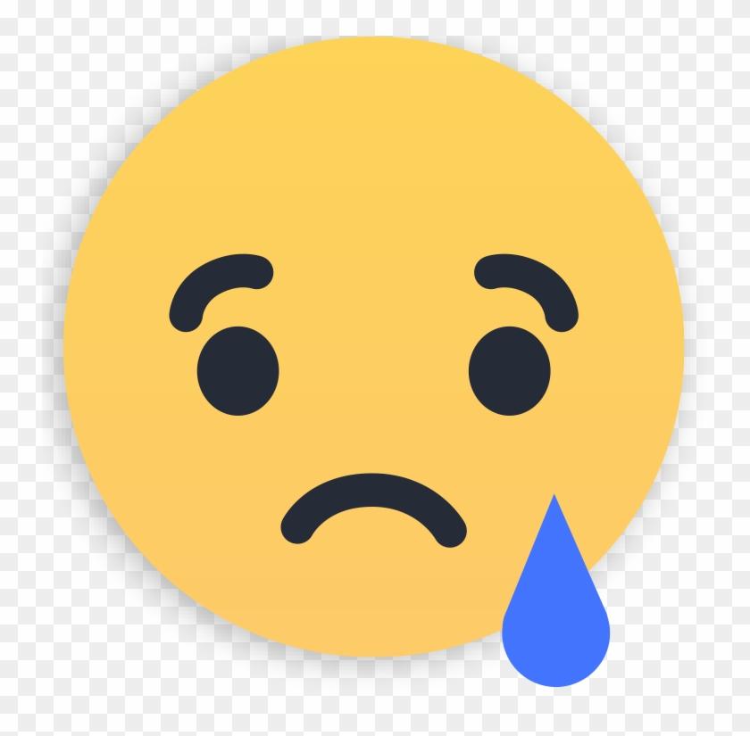 1 - Sad - Facebook Sad Icon Png Clipart #3342103