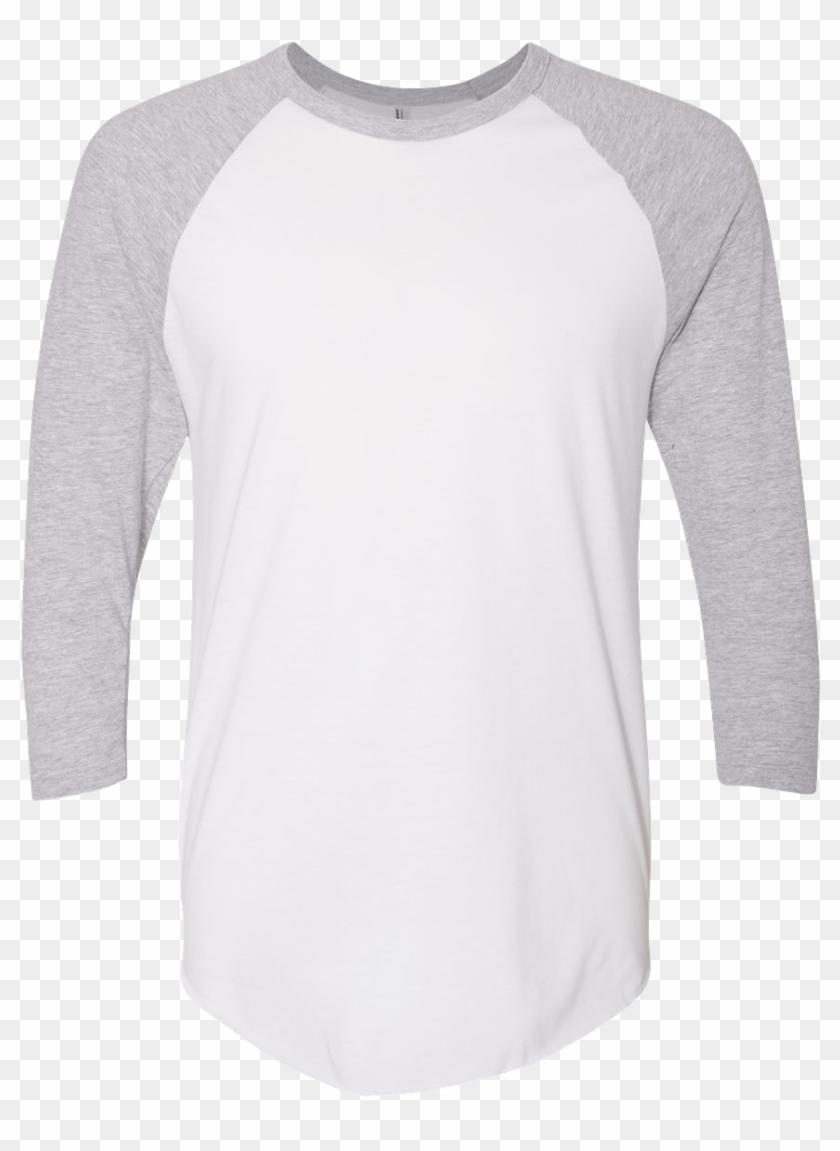 Unisex American Apparel 3/4 Sleeve Raglan T Shirt - Long-sleeved T-shirt Clipart #3345016