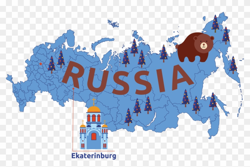 You Will Get An Insight Into The Glorious Past And - 2018 Russia Election Map Clipart #3347022