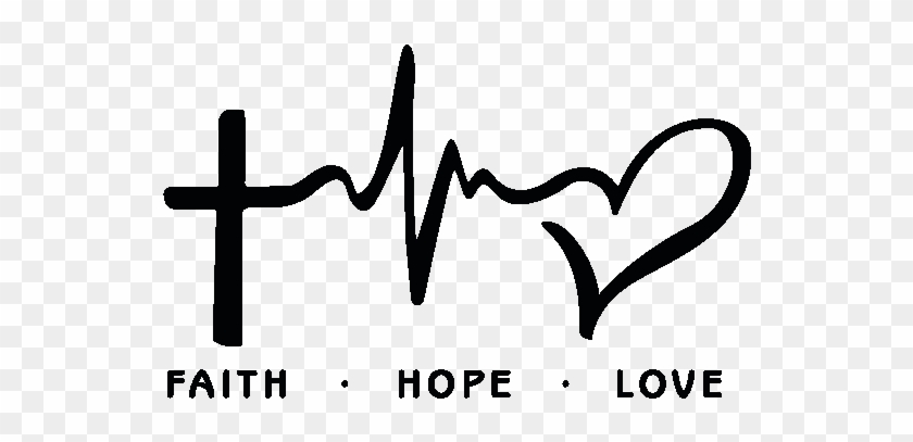 1110+ Faith Hope And Love Svg for Silhouette