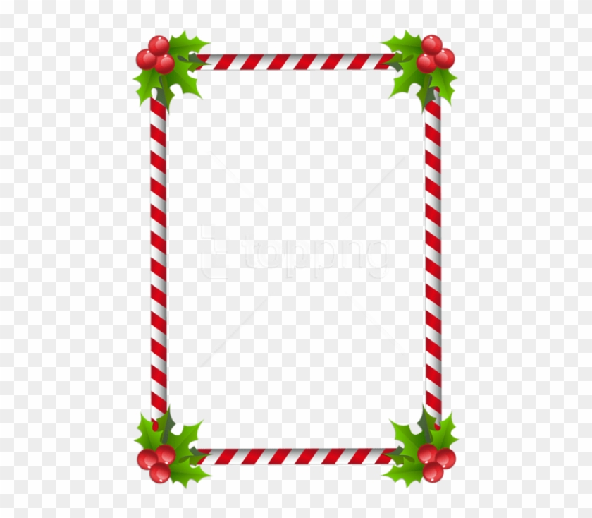 Free Png Christmas Transparent Classic Frame Border - Clip Art Christmas Border Design, Png Download #3349111