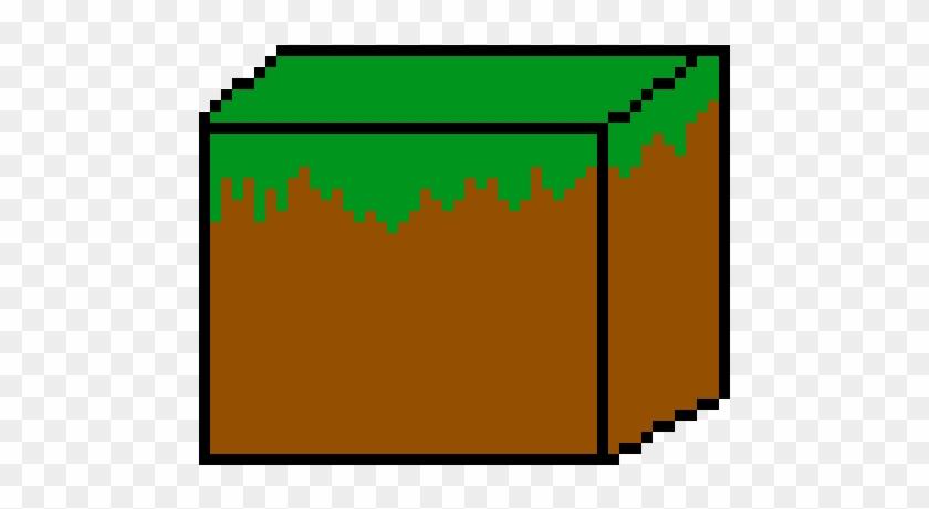 Minecraft Grass - Pixel Art Clipart #3351755
