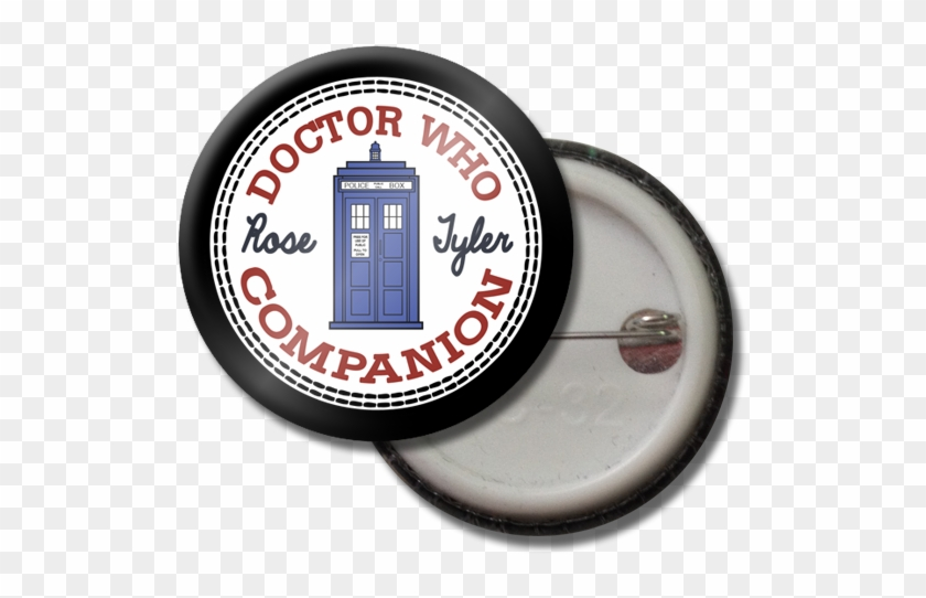 Rose Tyler Button Pin - Annual Review Clip Art - Png Download #3354612