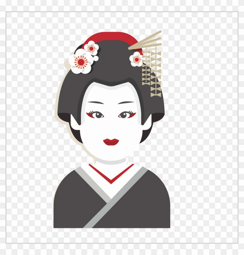 Kimono Clipart Japanese Person - Travel Japan Japan Infographic - Png Download #3361351
