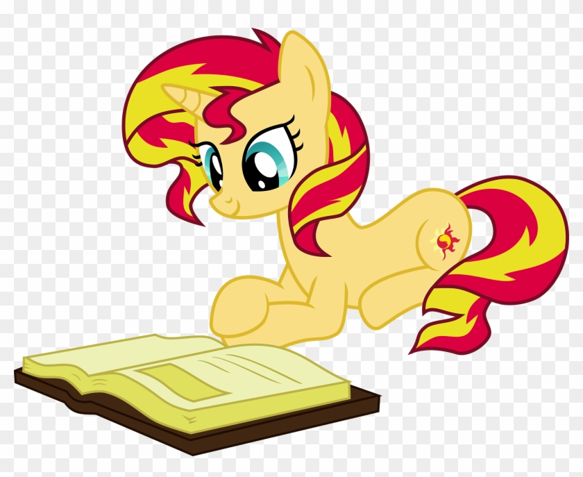 9 Recommended Reads For Sunset Shimmer Day - Mlp Sunset Shimmer Pony Png Clipart #3370812