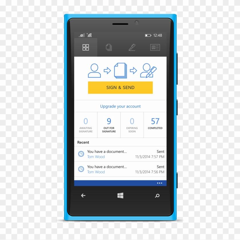 Docusign For Word - Docusign App Windows Phone Clipart #3371236