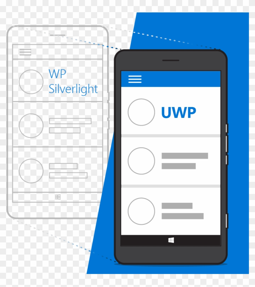 Hero Silverlight - Uwp Windows Phone Clipart #3371502