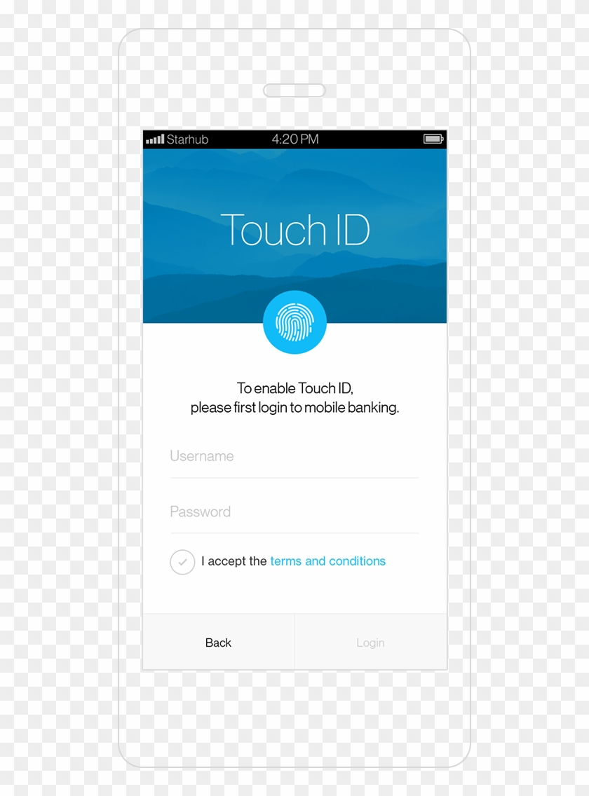 Standard Chartered Touch Login Service -enable Id - Standard Chartered Mobile Banking Gif Clipart #3373386