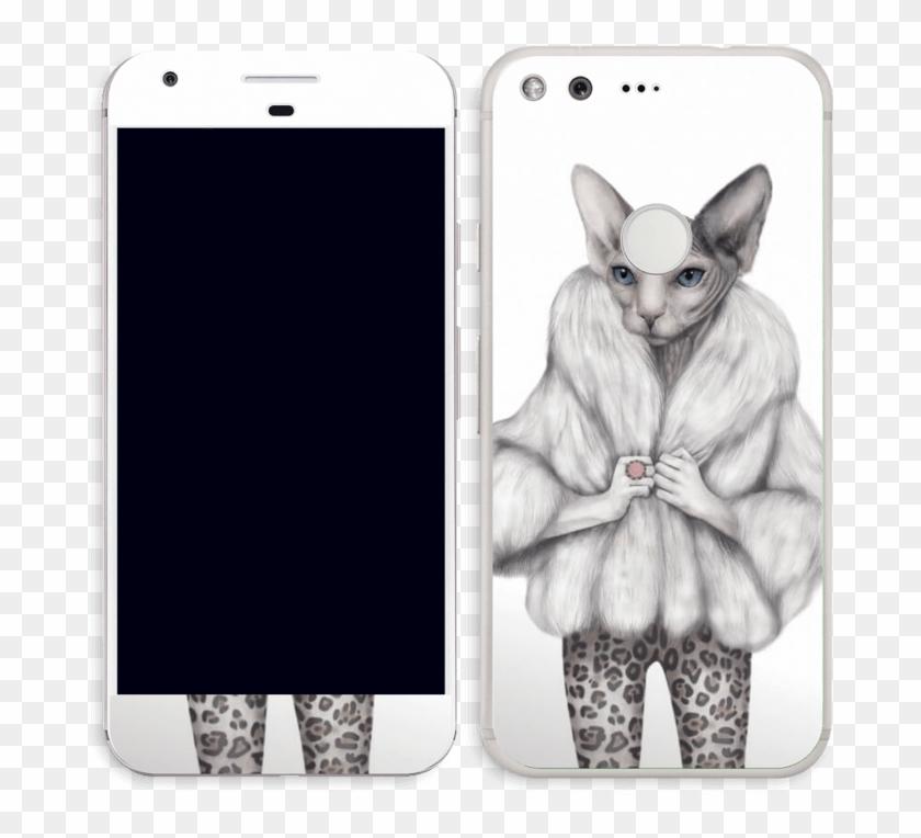 Little Miss Purr Fect Skin Pixel Iphone Clipart 3376788