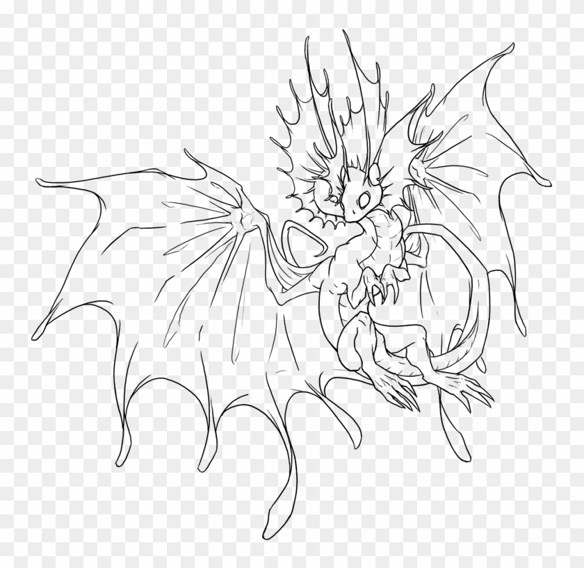 Flight Rising Coloring Pages Clipart #3379684