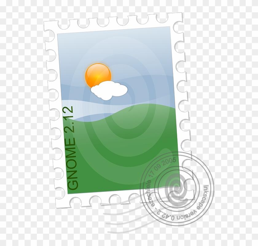 Stamp, Postage, Mail, Letter, Postal - Stamp Clipart - Png Download #3385748