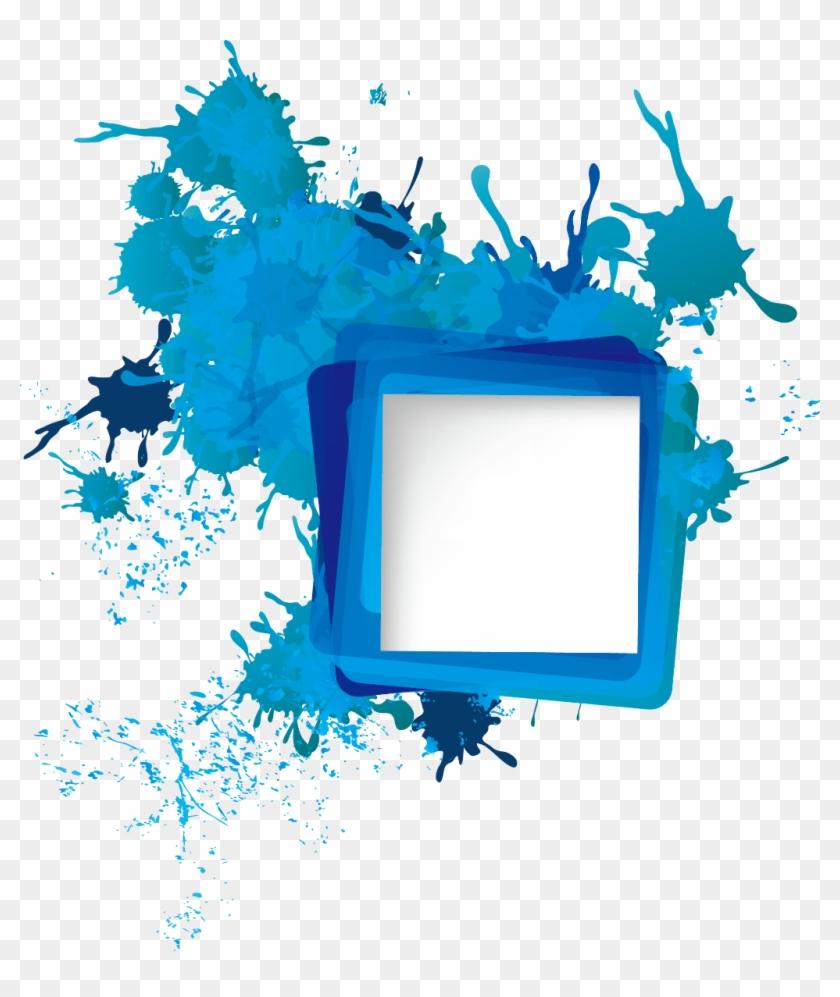 #frames #frame #border #borders #paintsplatter #splatter - Png Abstrato Clipart #3390030