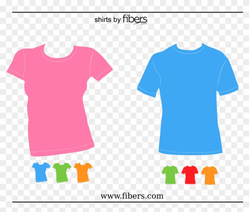 Top Clipart Woman Shirt - T Shirt Vector Png Transparent Png #3394677