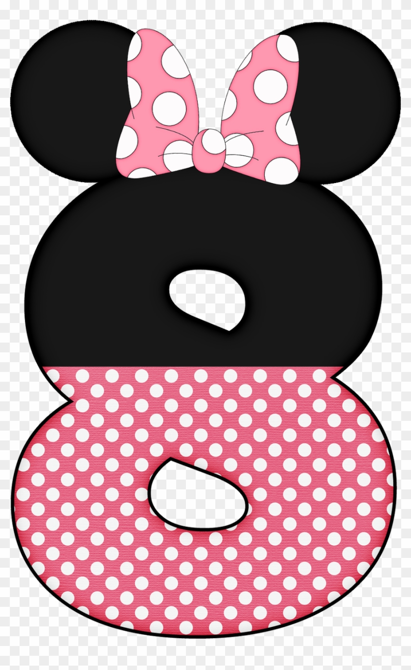 Png Royalty Free Download Mickey E Minnie Si Ratinha - Minnie Mouse Letter D Clipart #3396681