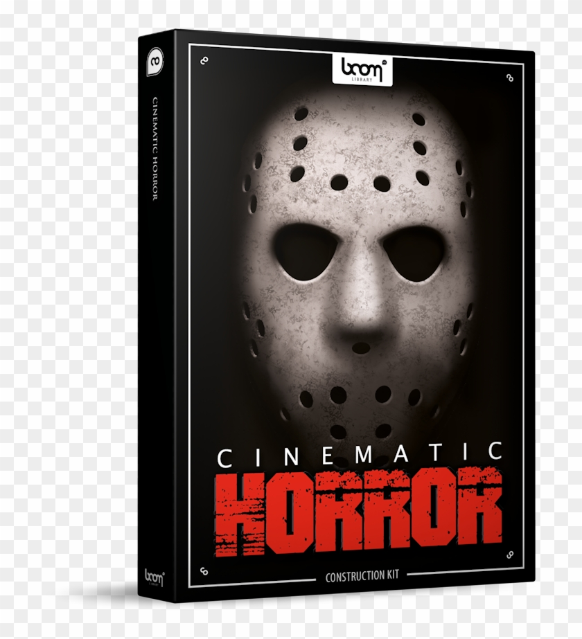 Cinematic Horror Sound Effects Library Product Box - Boom Library Cinematic Horror Clipart #3397155