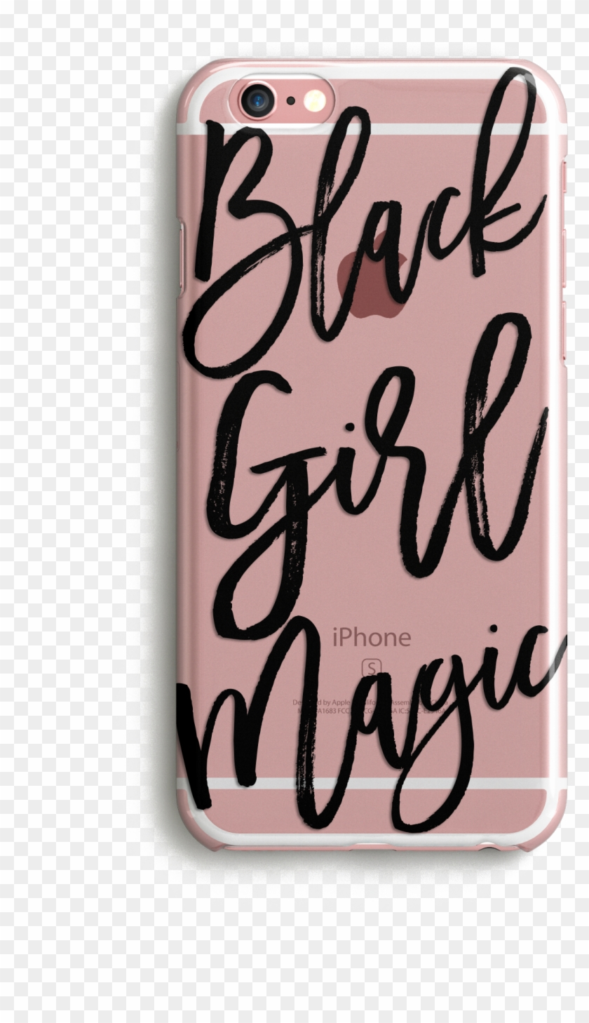 Black Girl Magic Phone Case - Mobile Phone Clipart #3398846
