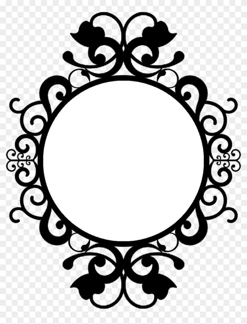 Circle Frame Round Frame Vintage Png Clipart 341116 Pikpng
