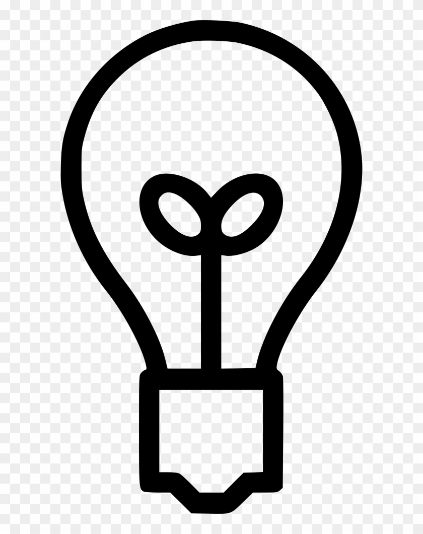 Bright Bulb Idea Lamp Light Comments - Thinking Graphic Clipart #341646