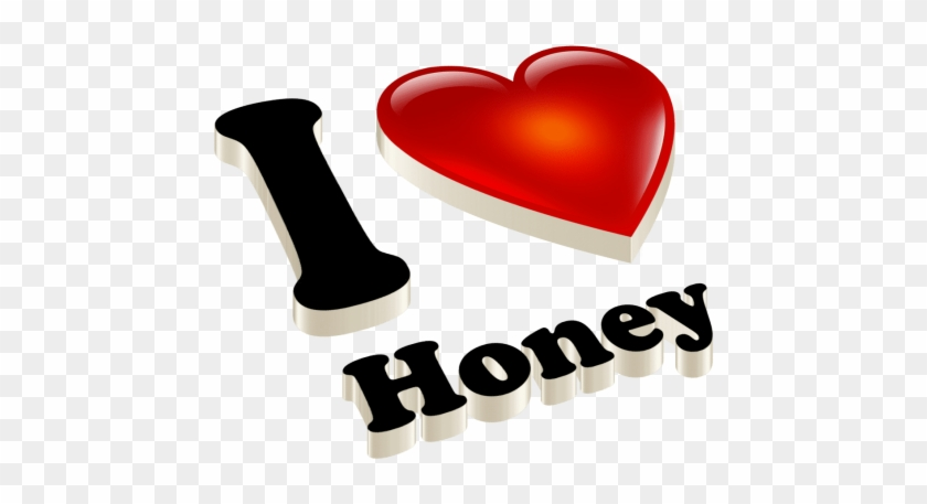 Free Png Honey Heart Name Png Images Transparent - Heart Clipart #343985