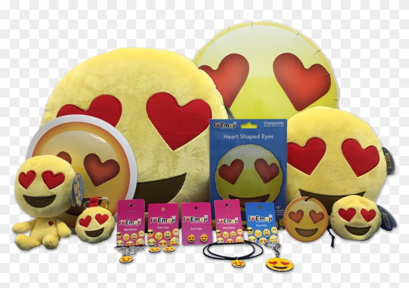 Emoji Yellow Heart Eyes Bundle Clipart #344463