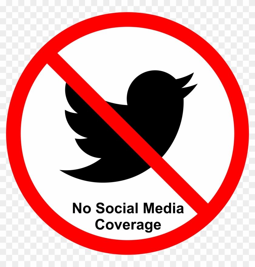 Social Media Not Allowed - Transparent Social Media No Clipart #344674