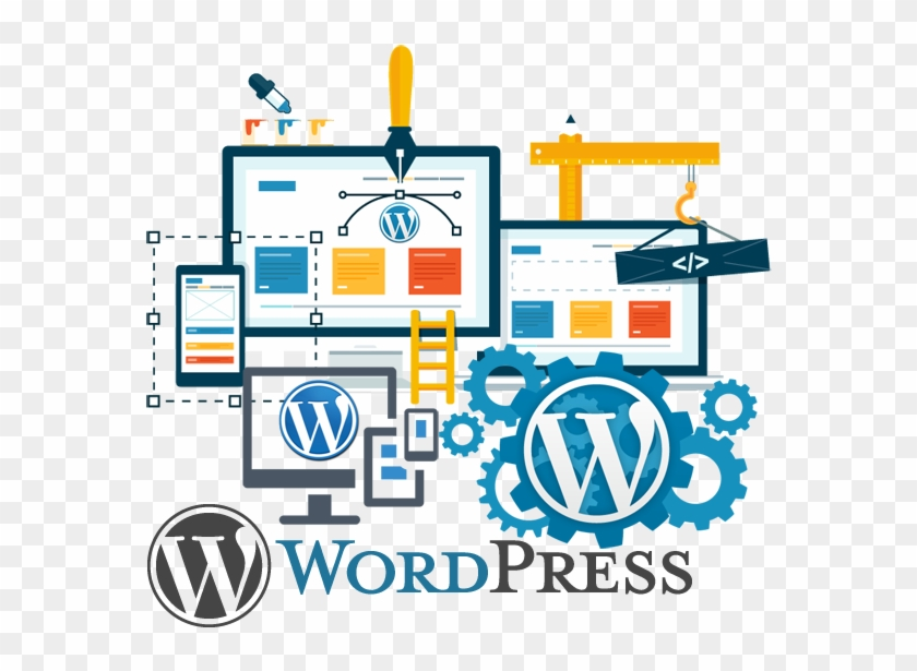 We Build Feature-rich Wordpress Websites To Take Your - Creative Web Design Banner Clipart #349490