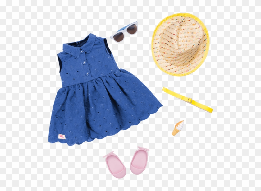 Heart Of Summer Outfit For 18-inch Dolls - Our Generation Summer Outfits Clipart #3414972