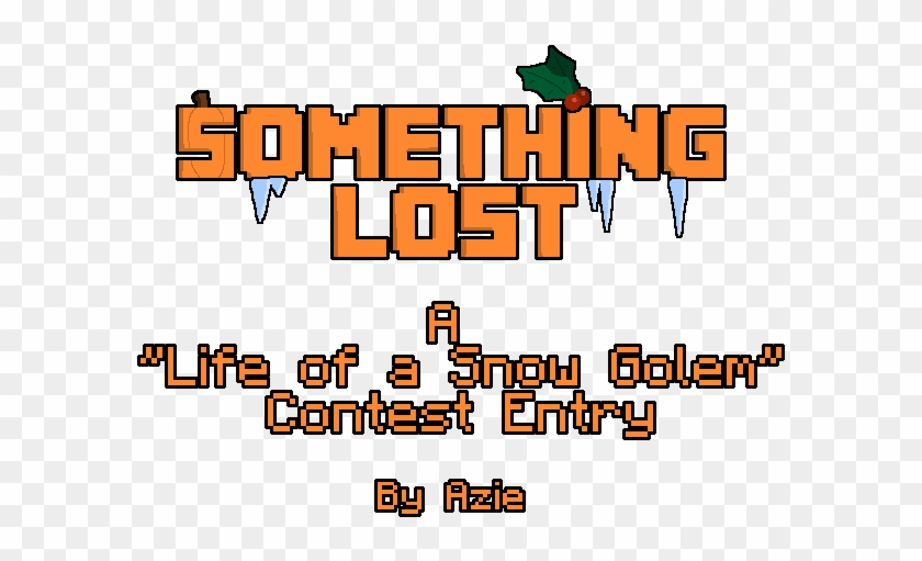 """life Of A Snow Golem"" Contest - Graphics Clipart #3415093"