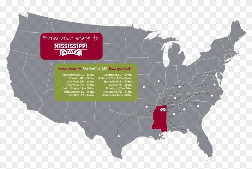 Map Of The U - Us Senate Map 2019 Clipart #3423447