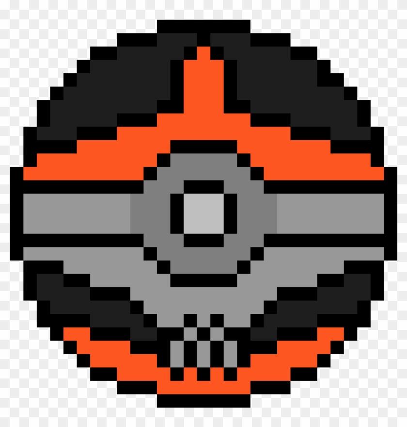 Mega Houndoom D Va Logo Pixel Hd Png Download 3429309
