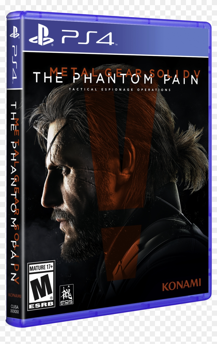 Metal Gear Solid V - Metal Gear Solid 5 Xbox One Game Clipart #3429751