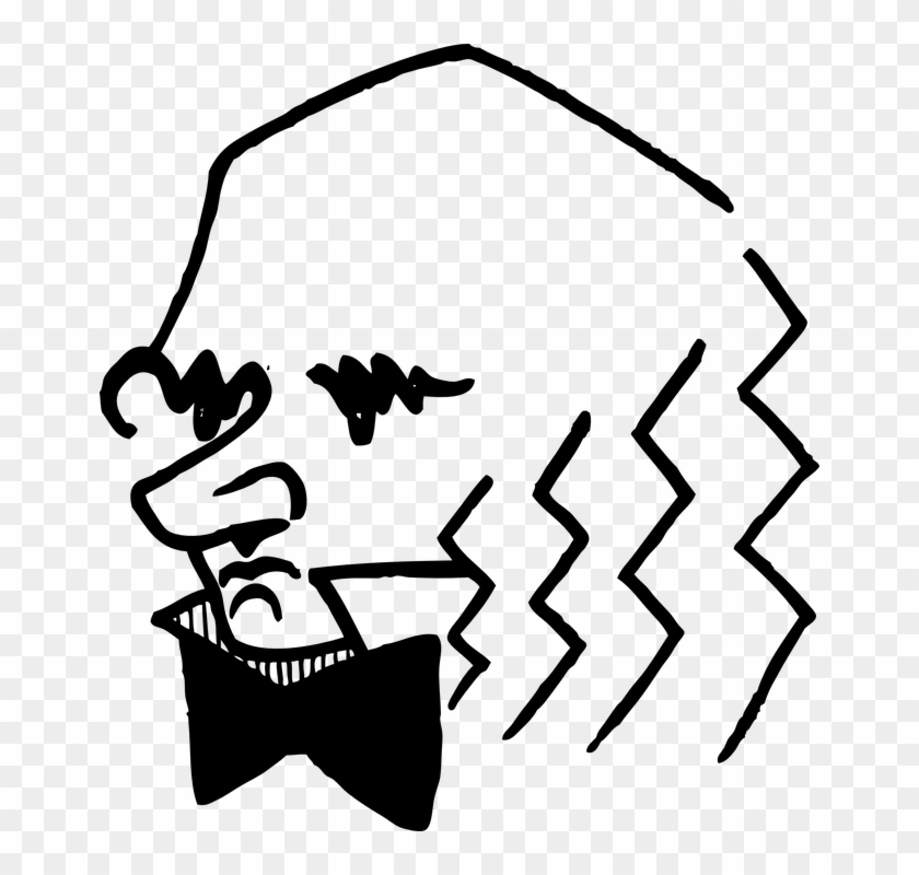 Charles Darwin Head Man Face Charles Darwin Easy Drawing Clipart