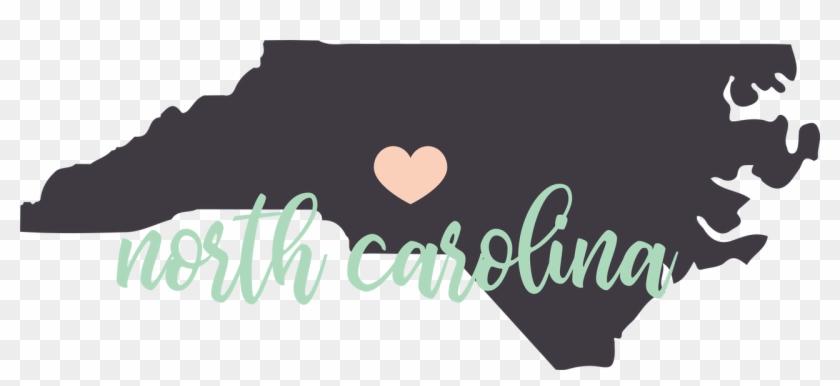 North Carolina State Svg Cut File - Calligraphy Clipart #3438278