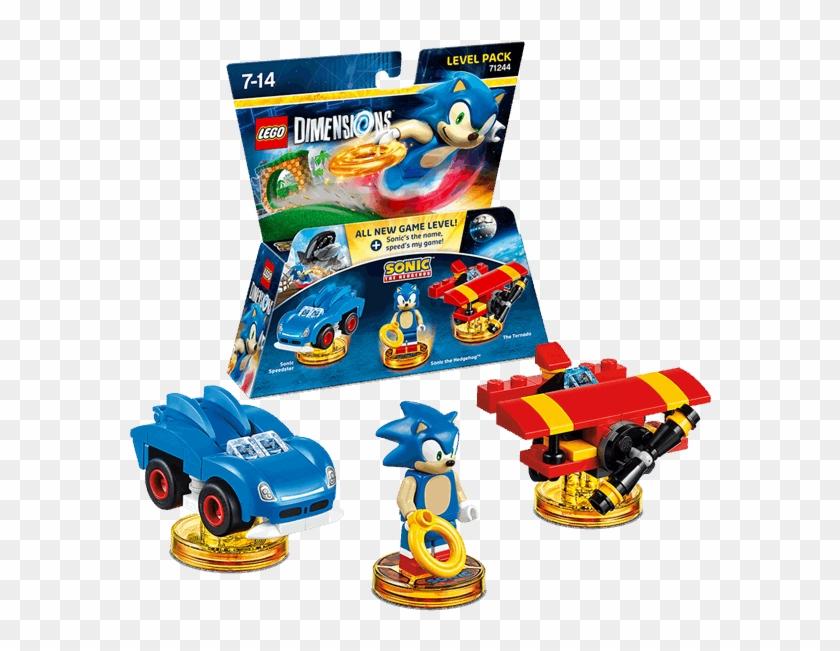 Interactive Figures - Lego Dimensions Sonic Build Clipart #3448414