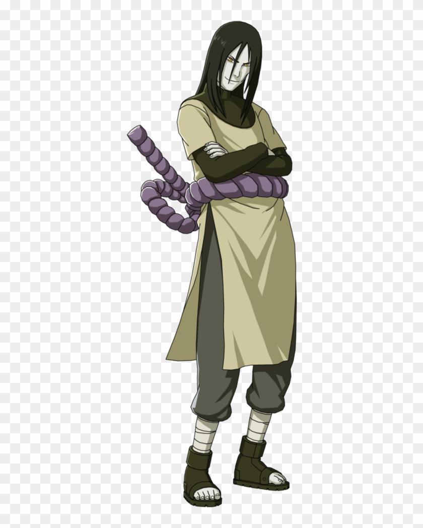 Naruto Chapter 45 , Naruto Episode 27 (anime) - Naruto Orochimaru Full Body Clipart #3448469
