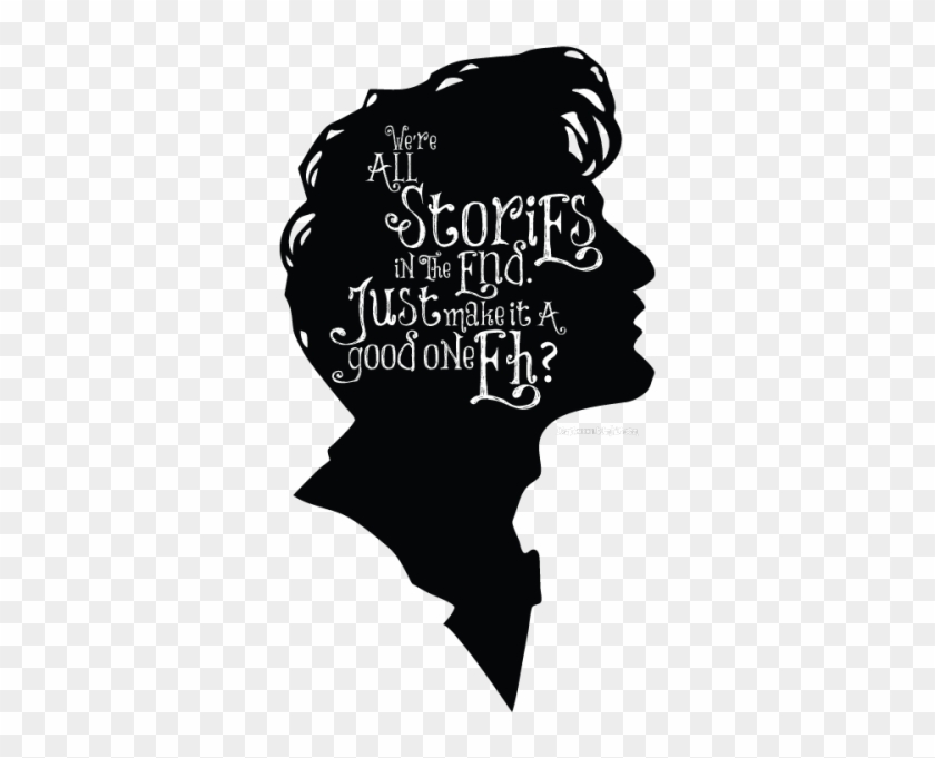 Doctor Who Eleventh Doctor Dw The Doctor Whovians Dwedits - 11th Doctor We Re All Stories Clipart #3450115