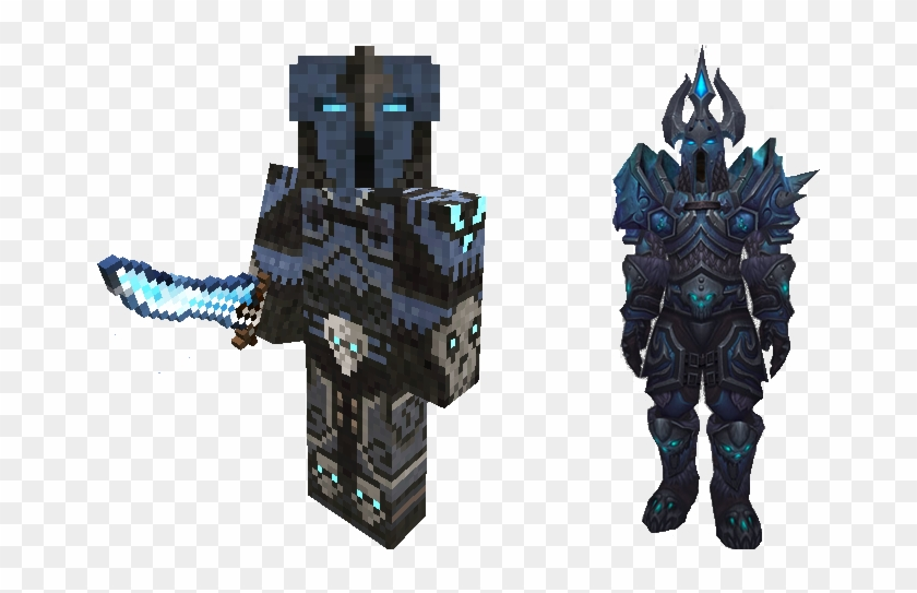Mapping And Modding - Minecraft World Of Warcraft Death Knight Skin Clipart #3450904