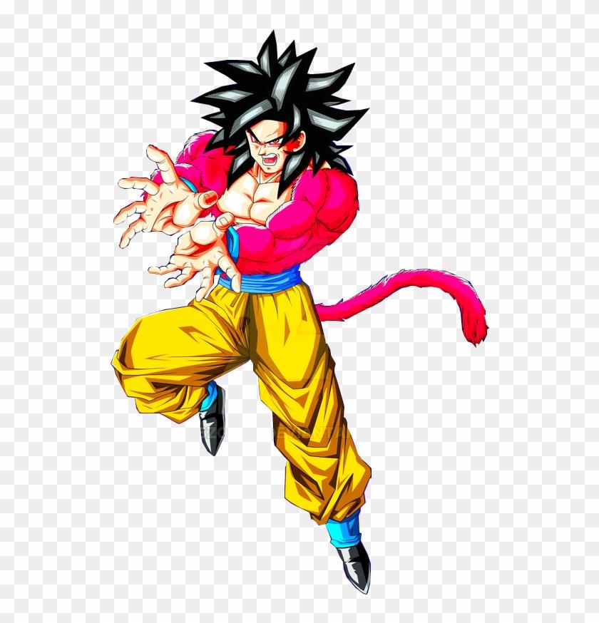 Goku Ssj 4 Goku E Vegeta, Son Goku, Dragon Ball Gt, - スーパー サイヤ 人 4 悟空 Clipart #3451183