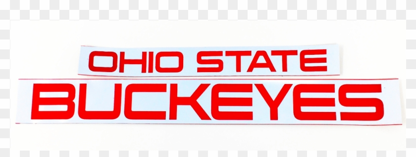 Ohio State Buckeyes Inserts For Lumisign - Graphics Clipart #3451735