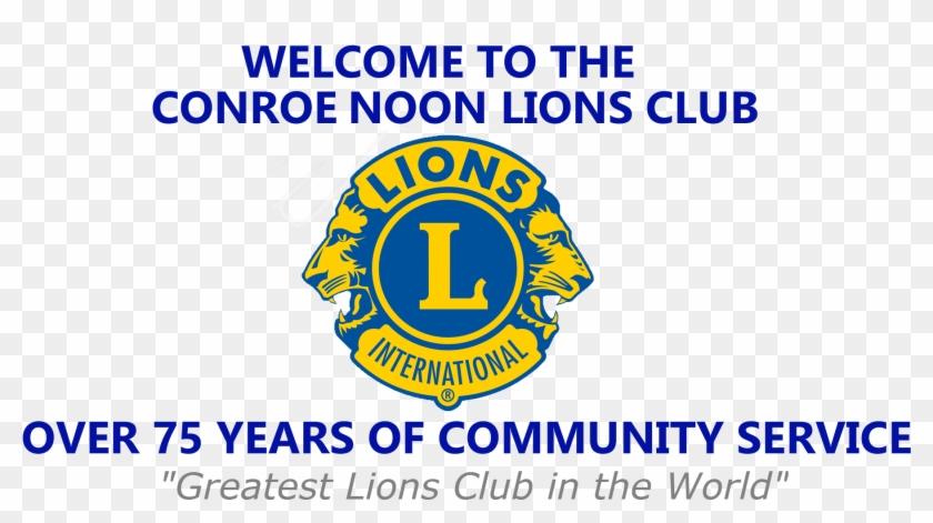 Club Meetings - Lions Club International Clipart #3453482