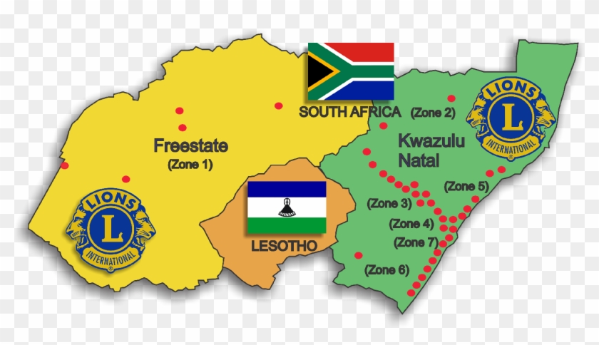Lions Clubs - Lions Club South Africa Clipart #3454053