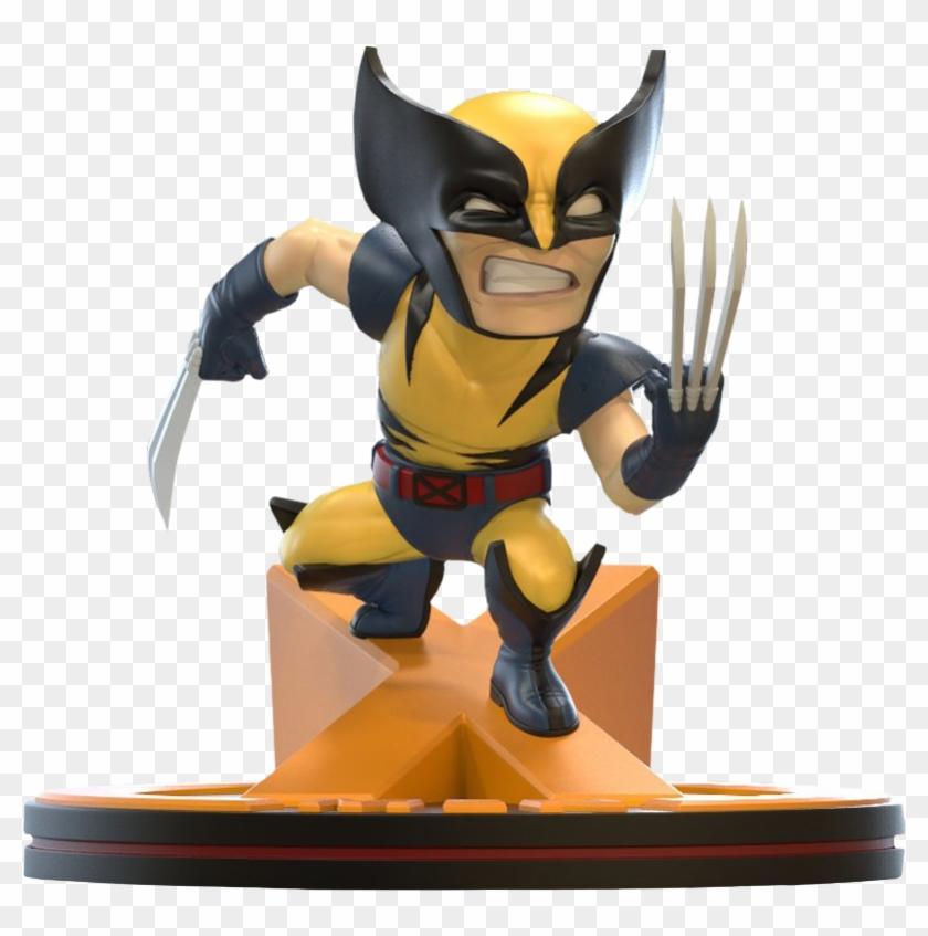"Wolverine Marvel 80th Anniversary Q Fig Diorama 4"" - X-men Clipart #3456180"
