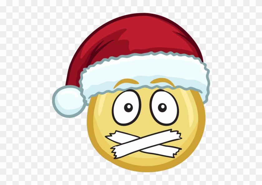 Merry Christmas Emojis , Nerdy Santa Clipart (3463793) , PikPng
