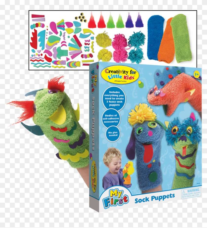 Previous - Creativity For Kids Make Your Own Sock Puppets Clipart #3464737