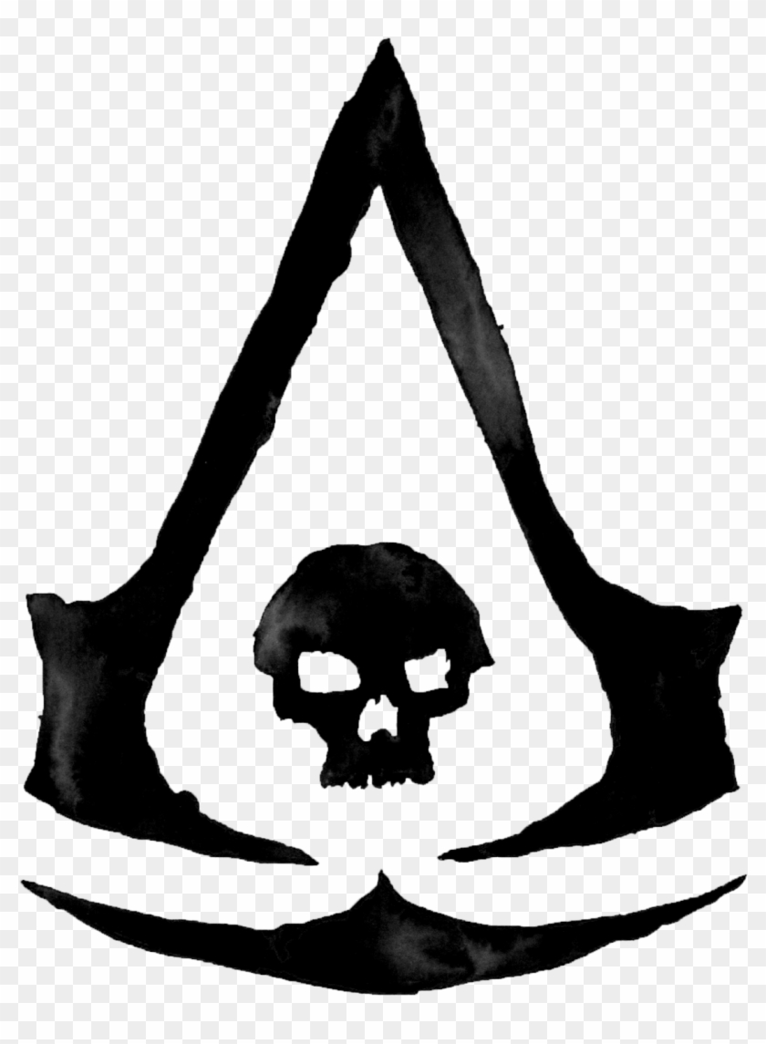 Assassin S Creed Black Flag Assassin S Creed Black Skull Clipart