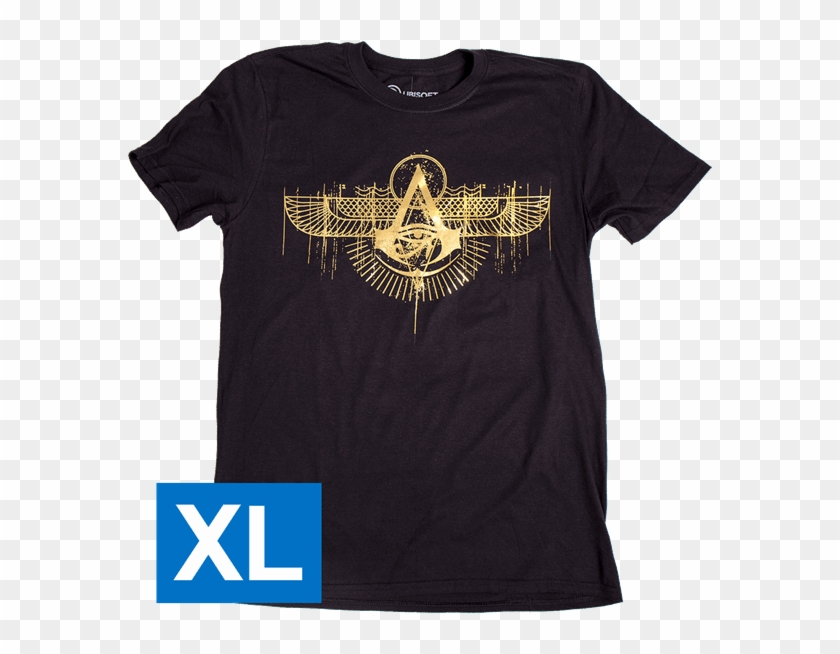Winged Logo Men's T-shirt - Active Shirt Clipart #3470762