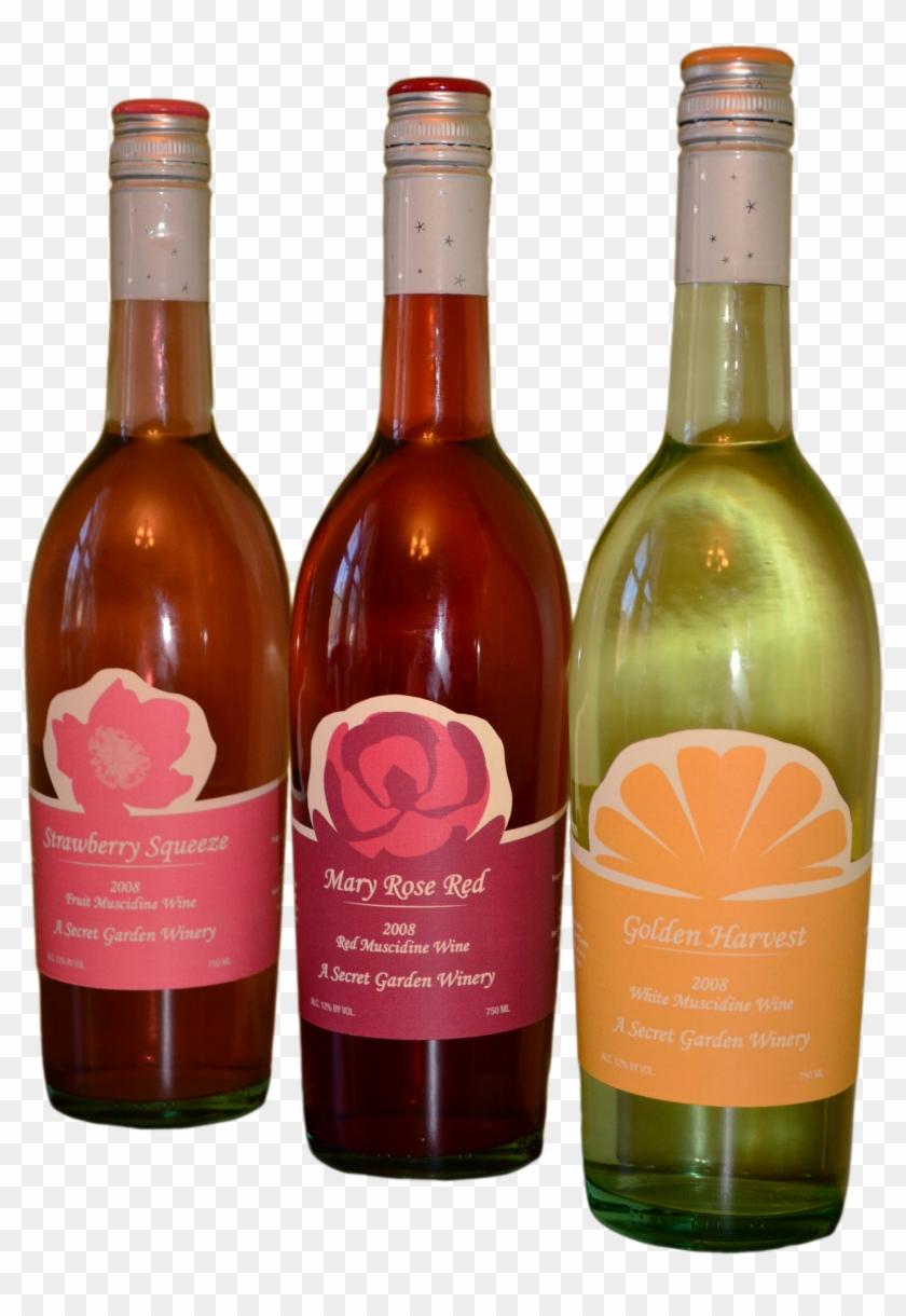 Wine Labels - Glass Bottle Clipart #3476946