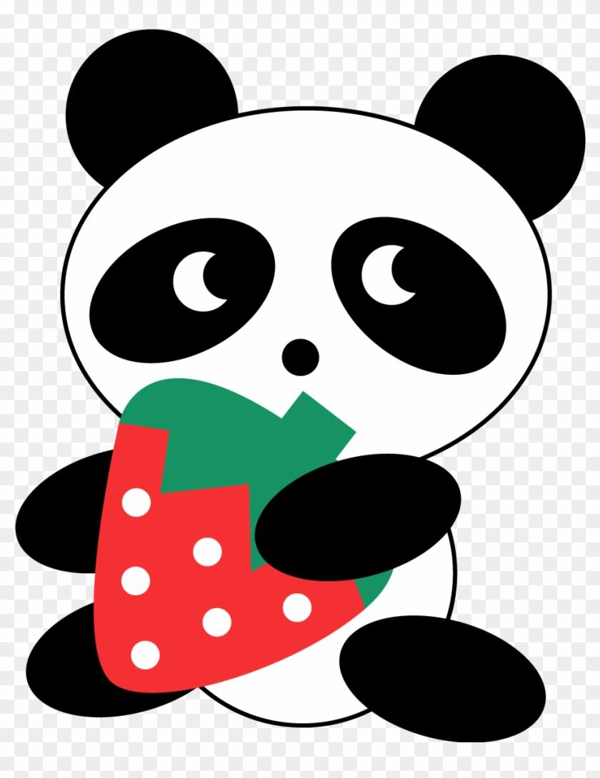 Anime Shoujo Pngs De Pandas Kawaii - Cute Panda Clipart@pikpng.com