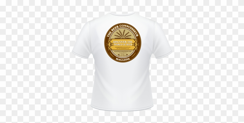 White Logo'd T-shirt - Active Shirt Clipart #3485873