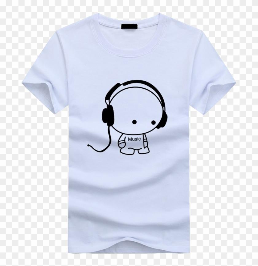 3d Anime Funny T-shirts White - New T Shirt Design 2019 Clipart #3487300